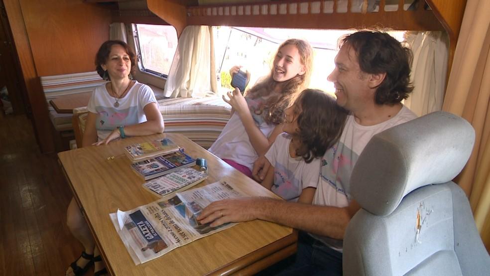 Viagem começa pelo sul do Brasil, no próximo sábado (17) (Foto: Reprodução/EPTV)