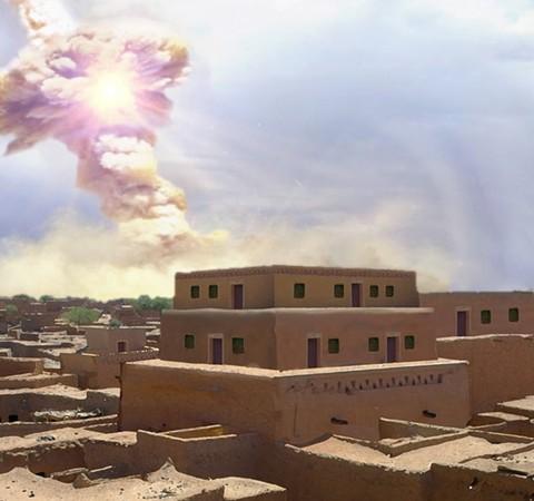 Cidade destruída por asteroide teria inspirado história bíblica de Sodoma