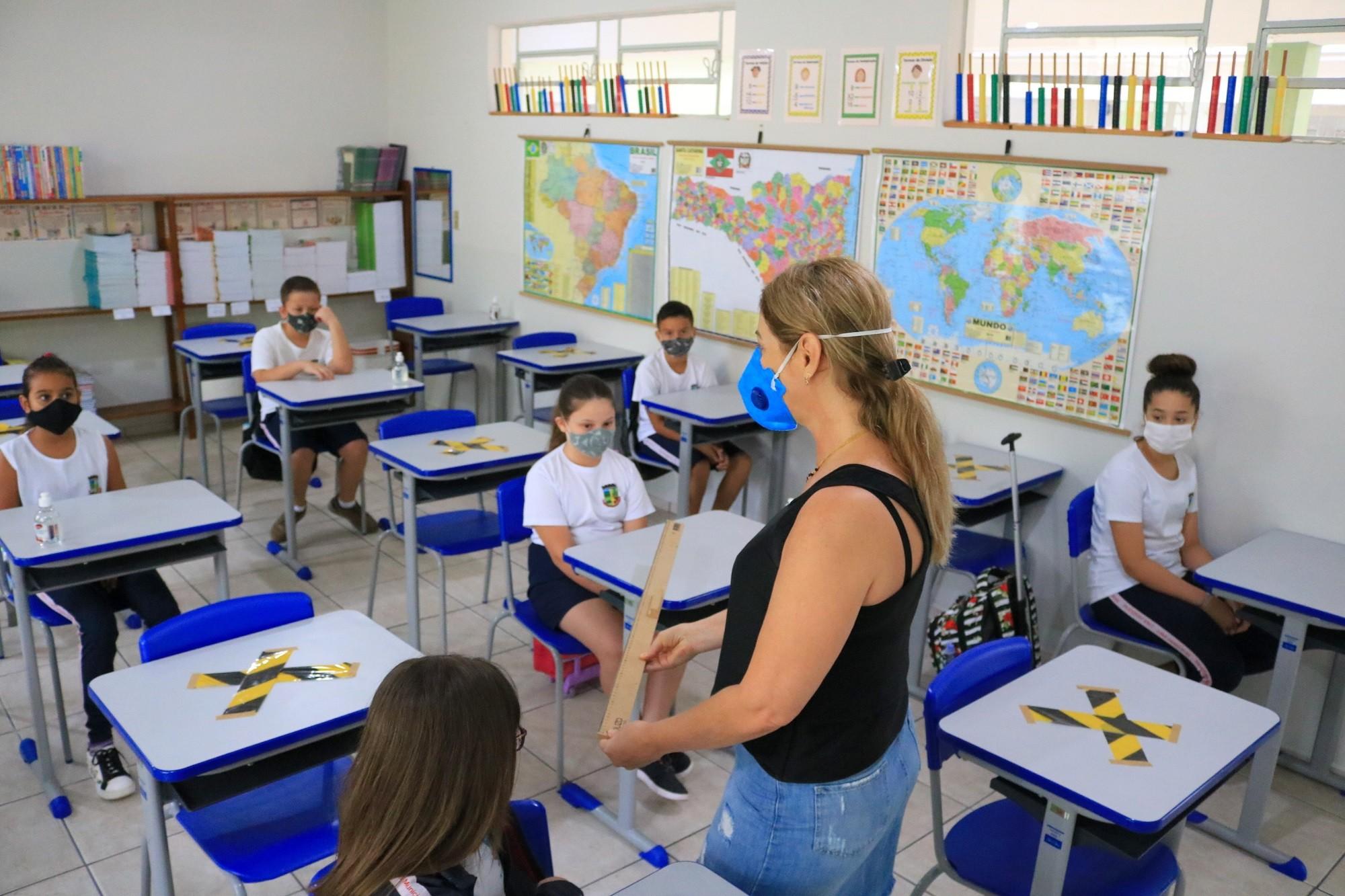 Cidade catarinense alcança evasão escolar zero durante a pandemia