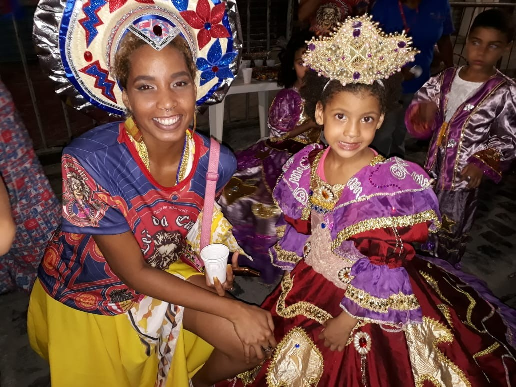 Crianças abrem Noite dos Tambores Silenciosos, no Recife, e apontam para o futuro da tradição secular