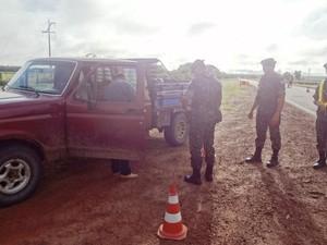 Ação militar ocorreu durante quatro dias nas fronteiras (Foto: Divulgação/ Exército)