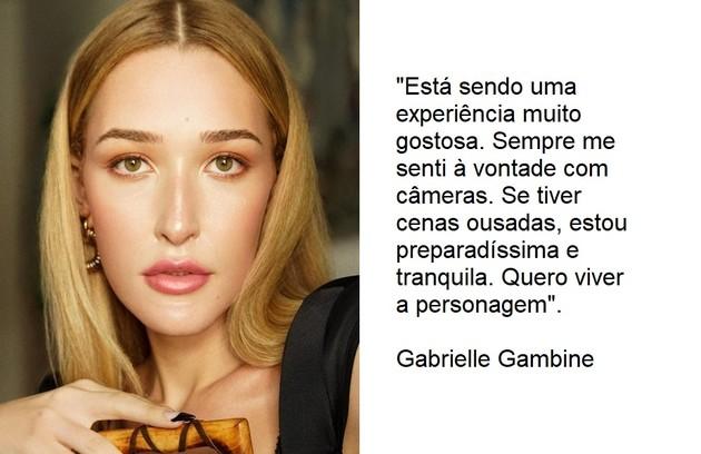 Sobrinha de Roberta Close, Gabrielle Gambine fará a sua estreia na TV como uma modelo trans da agência (Foto: Reprodução)