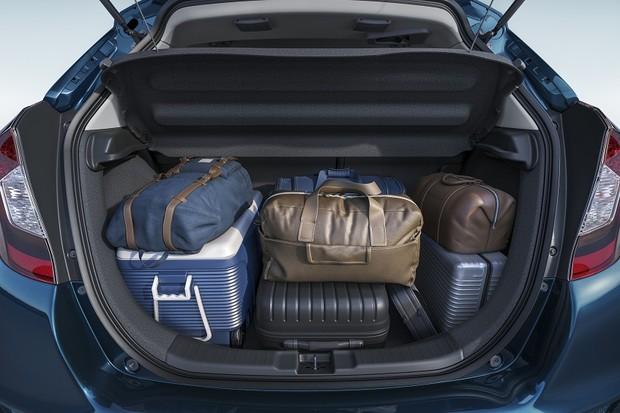 Honda Fit EXL porta-malas (Foto: Divulgação)