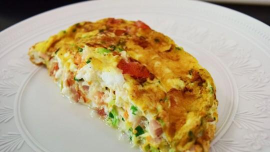 Omelete de Claras da Ana Maria