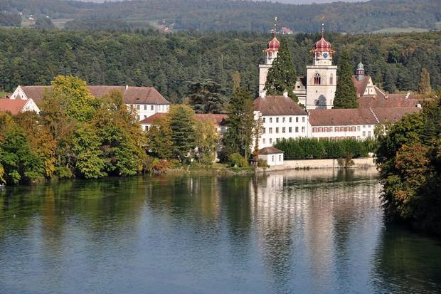 Rheinau, na Suíça (Foto: Reprodução/ Roland Zh)