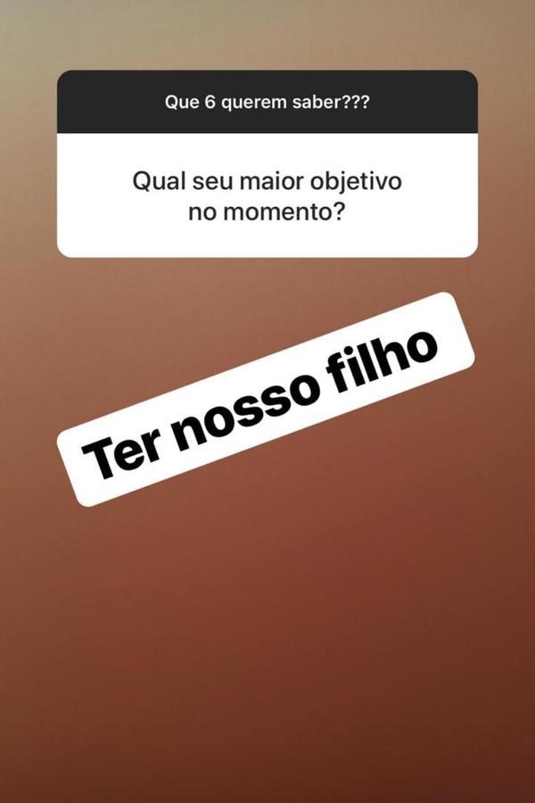 Thammy Miranda responde perguntas dos fãs (Foto: Instagram/Reprodução)