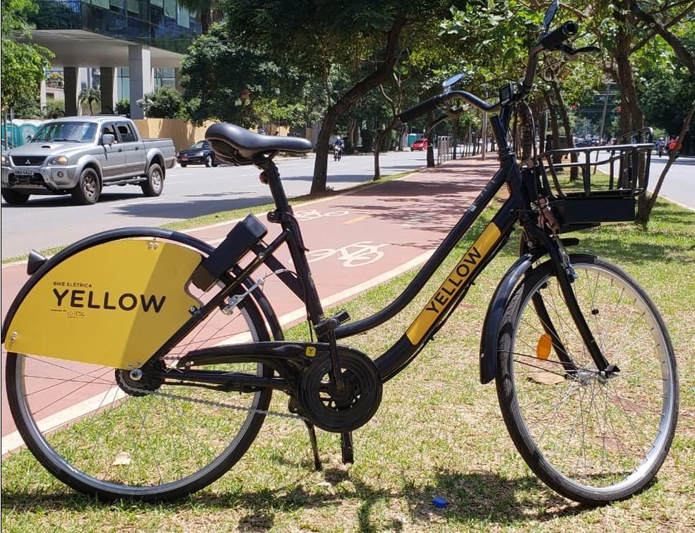 Yellow lança serviço de bicicletas elétrica compartilhadas no Brasil — Foto: Yellow/Divulgação