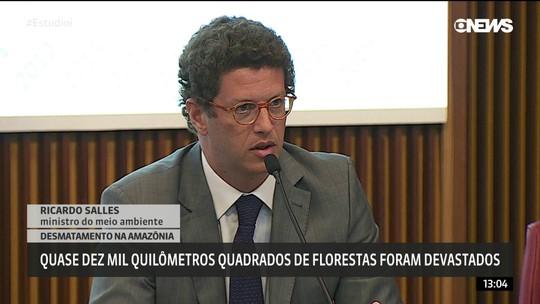 Ministro culpa atividades econômicas ilegais por desmatamento e cobra 'ambientalismo de resultados'