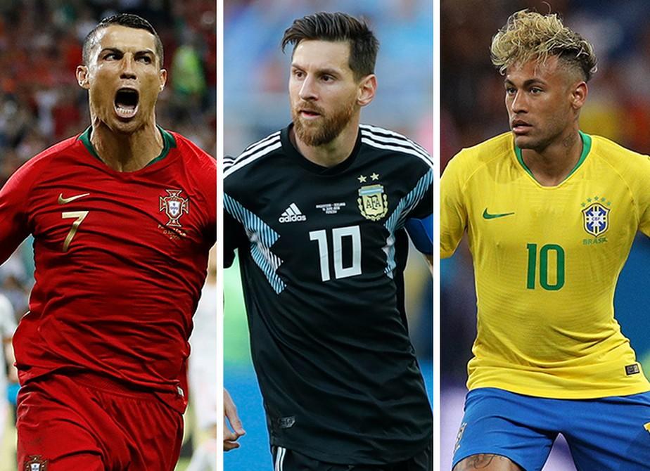 CR7 tem desempenho superior a Messi e Neymar em primeira rodada da Copa