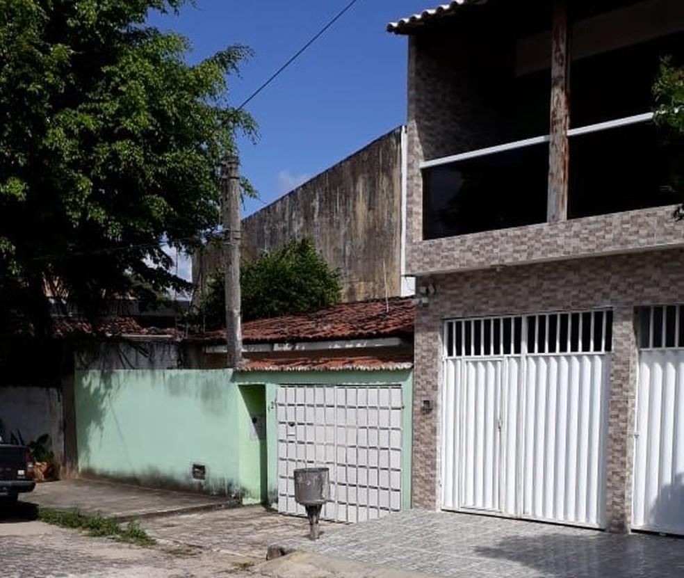 Crime aconteceu no bairo Cidade da Esperança, em Natal (Foto: Marksuel Figueredo/Inter TV Cabugi)
