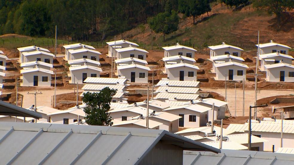 """Casas do programa """"Minha Casa, Minha Vida"""", no ES"""
