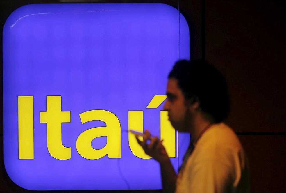 Itaú segue como a marca mais valiosa  — Foto: Nacho Doce/Reuters