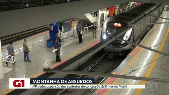 Ministério Público Especial pede nova licitação do metrô do Rio por monopólio, sobrepreço e sumiço de documentos
