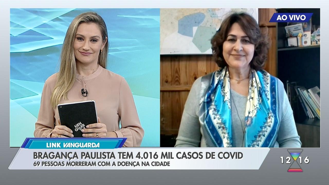 Secretária de Saúde de Bragança Paulista fala sobre os casos de Covid na cidade