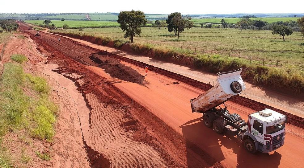 Chegada da infraestrutura vai mudar o perfil econômico da região, segundo Governo de MS. — Foto: Governo de Mato Grosso do Sul/Divulgação