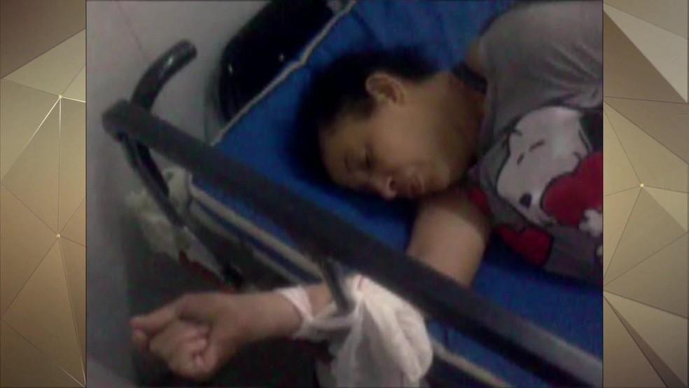 Dona Irene morreu cerca de sete horas depois de buscar socorro — Foto: Reprodução/TV Globo