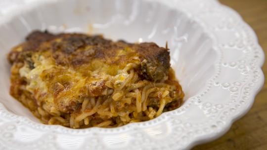 Lasanha de Macarrão Instantâneo do Chef Ravioli