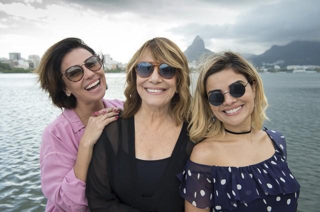 Renata Sorrah, Giovanna Antonelli e Vanessa Giácomo (Foto: Estevam Avellar)