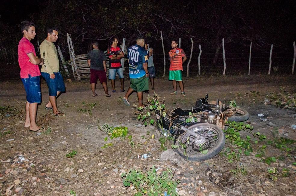 Suspeito de assalto morre em acidente durante fuga e outro é preso no Piauí — Foto: Blog do Coveiro
