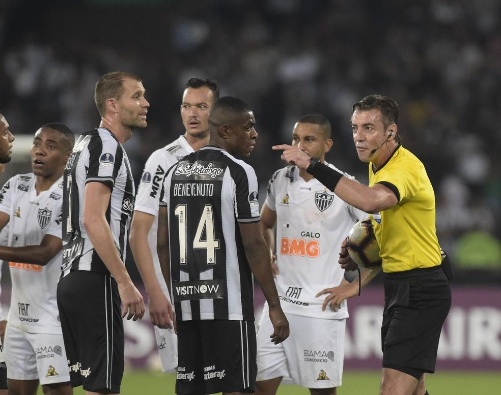 Atlético-MG enfrenta o Botafogo pela terceira vez neste ano — Foto: André Durão