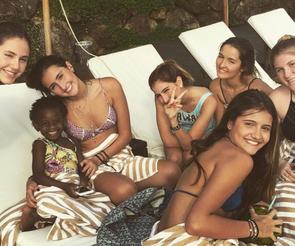 Menina fa aniversário no mesmo hotel que sofreu racismo (Foto: Reprodução Instagram)