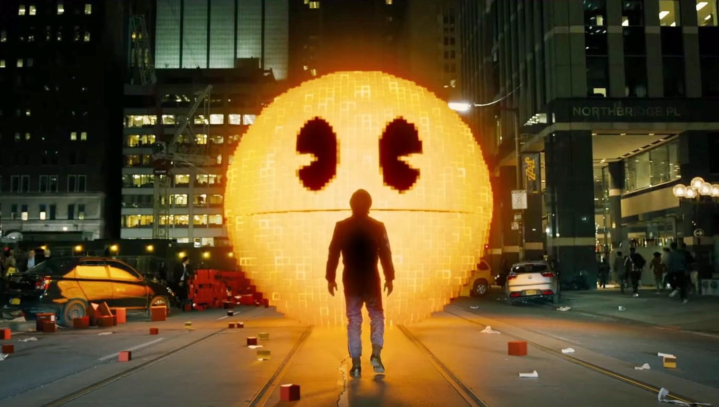 Cena do filme 'Pixels' (Foto: Divulgação)
