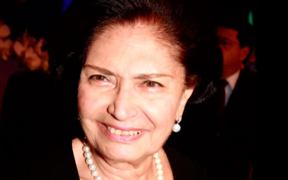Arlette Magalhães faleceu aos 86 anos (Foto: Arquivo Pessoal)