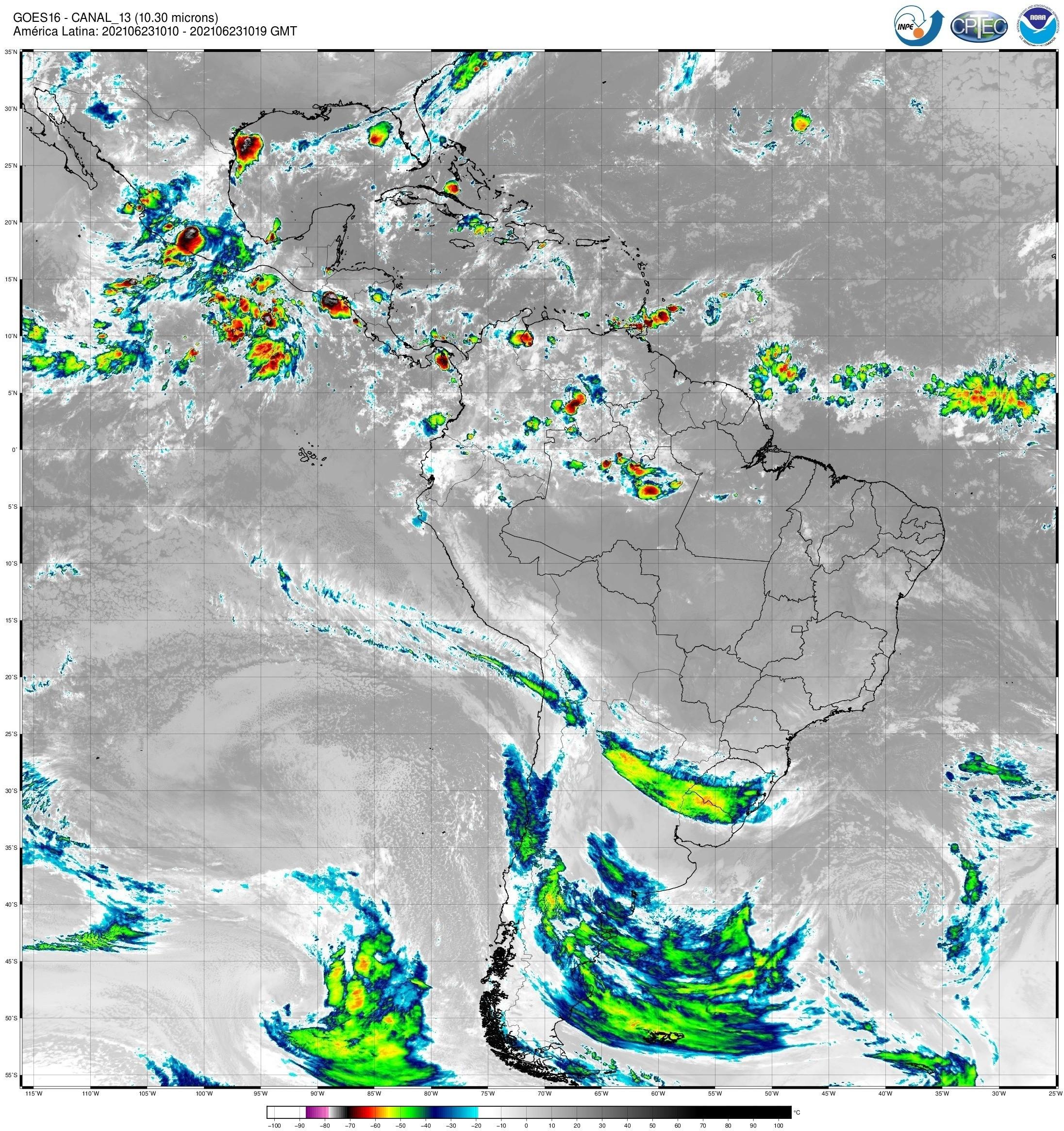Ciclone extratropical em SC pode causar temporais e ventos de até 100 km/h