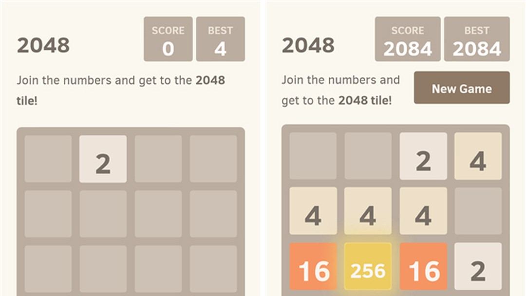 2048 | Jogos | Download | TechTudo