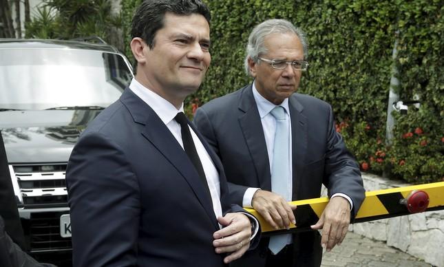 Sérgio Moro / Paulo Guedes