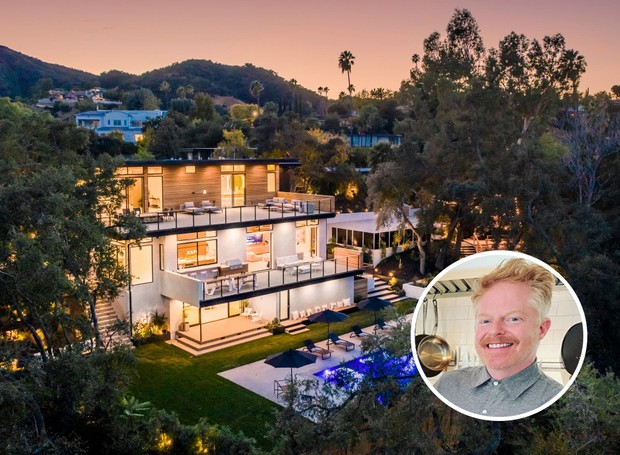 Casa de Jesse Tyler Ferguson (Foto: LA Light Photography / The Luxury Level)