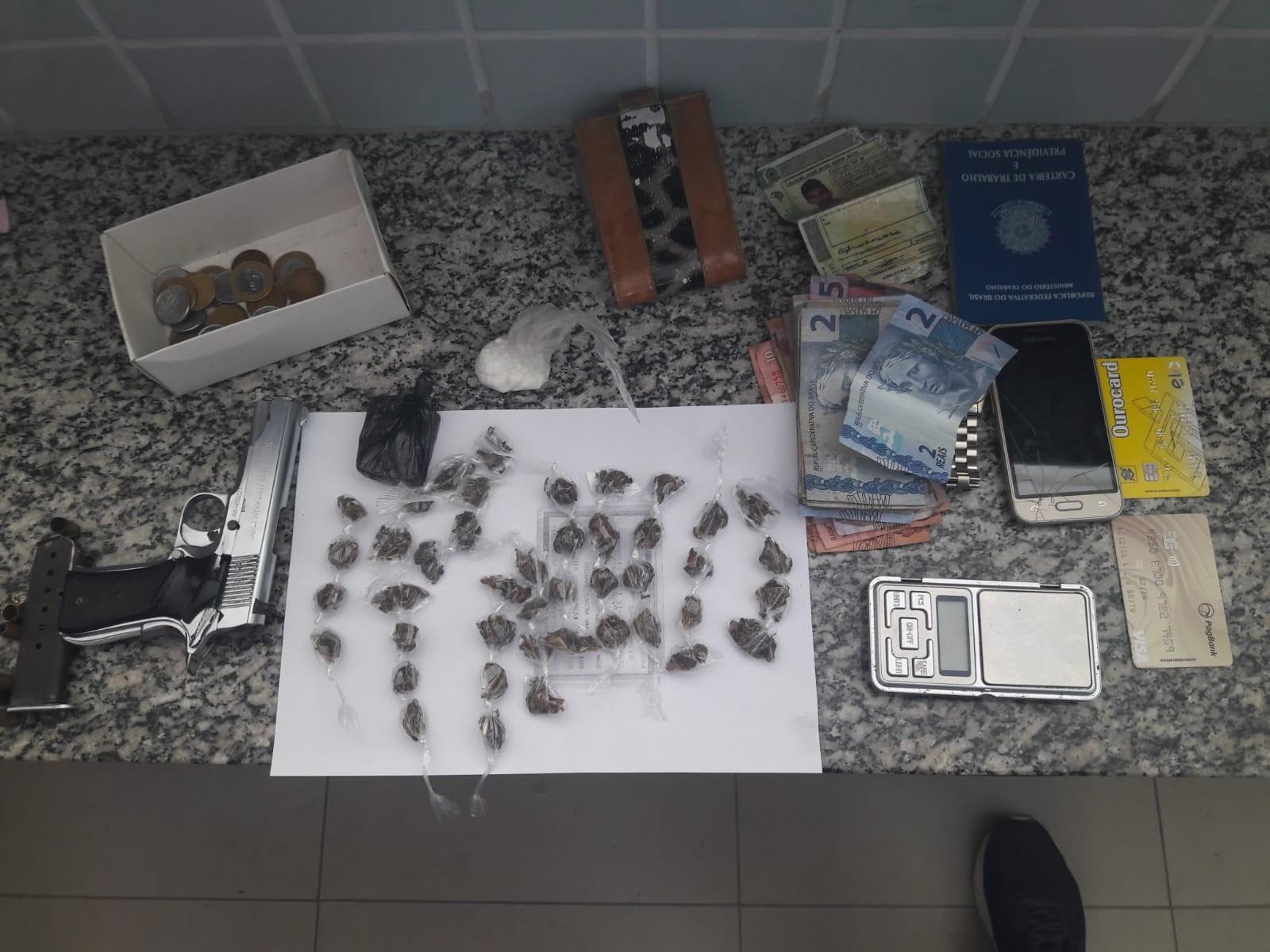 Dois homens são presos suspeitos de tentar matar integrante de facção rival em Boa Vista