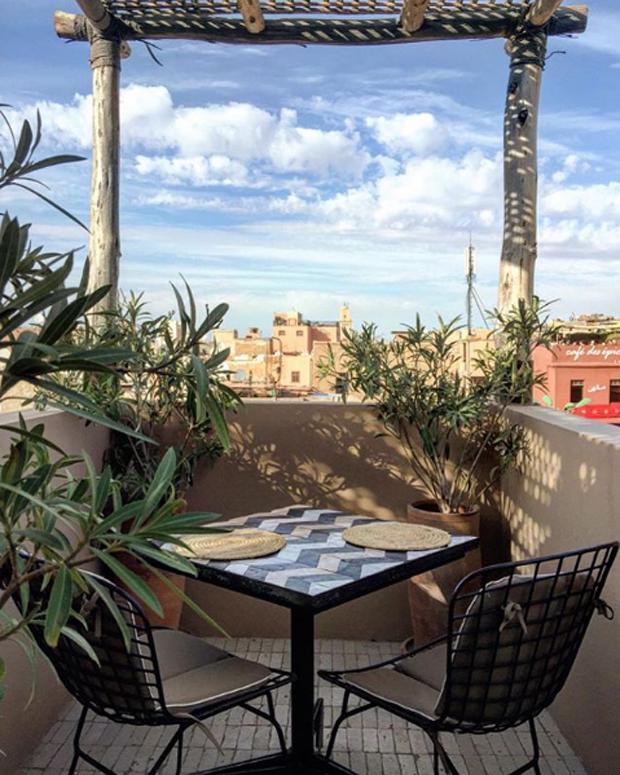 Nomad, em Marrakech (Foto: Instagram/Reprodução)