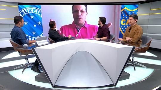 """Leonardo Gaciba discorda da expulsão de Dedé e diz: """"Não me agradou a arbitragem"""""""