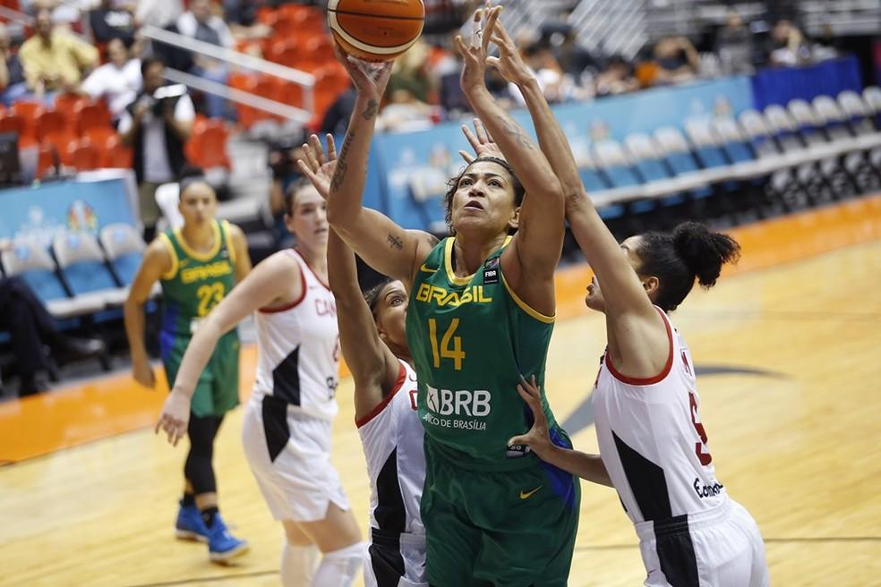 Brasil Canadá Copa do Mundo basquete — Foto: Divulgação