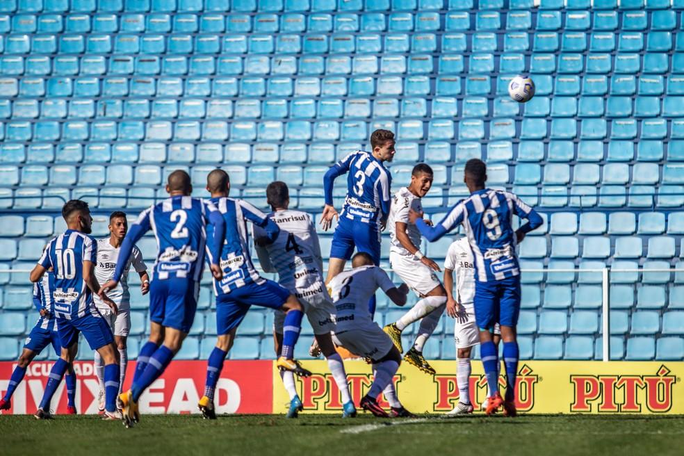 Avaí está na parte de cima da tabela — Foto: Leandro Boeira/AVAI FC