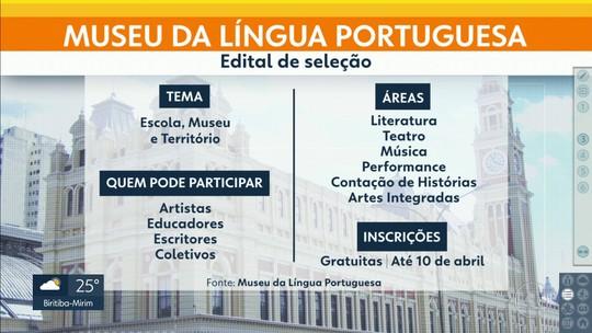 Museu da Língua Portuguesa abre edital de seleção para exposição