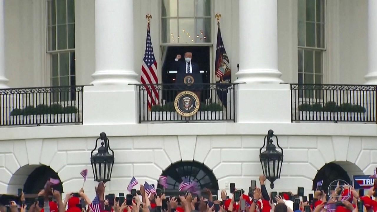 Trump retoma campanha eleitoral sem confirmar se está curado da Covid
