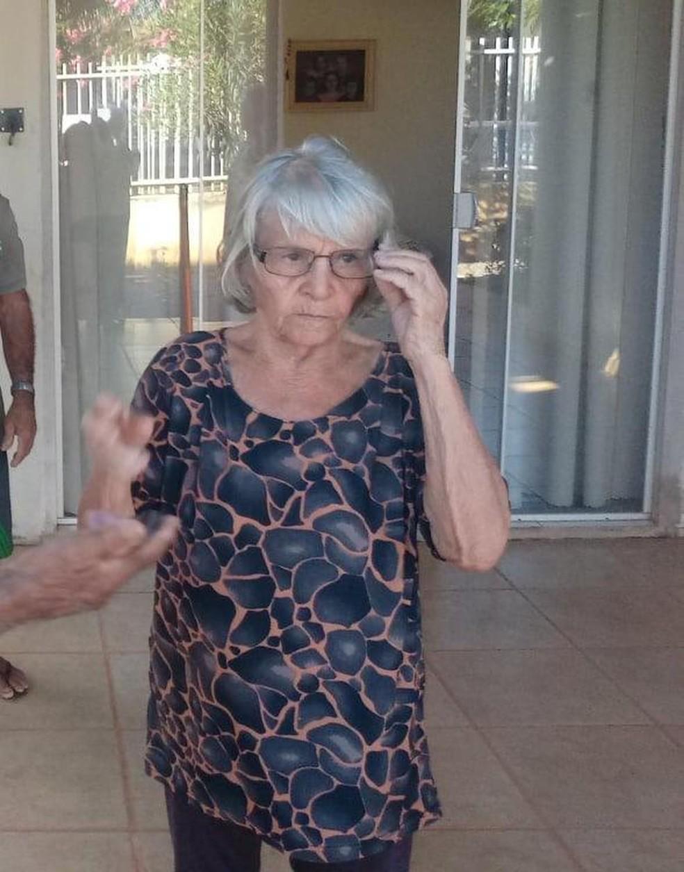 Salvina dos Santos Vidal, de 74 anos, foi morta em Lucas do Rio Verde — Foto: Arquivo pessoal