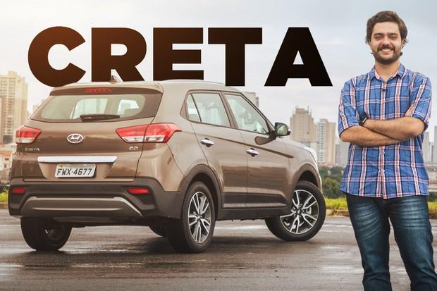 Vídeo Hyundai Creta (Foto: Autoesporte)
