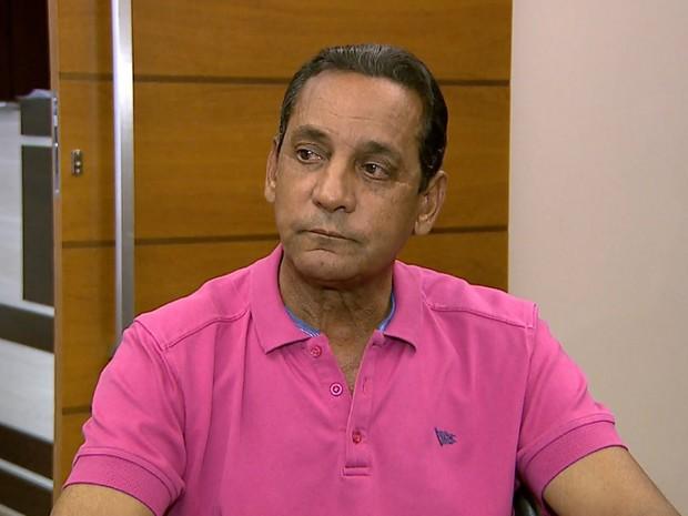 O presidente afastado da Câmara de Ribeirão Preto, Walter Gomes (PTB) (Foto: Reprodução/EPTV)