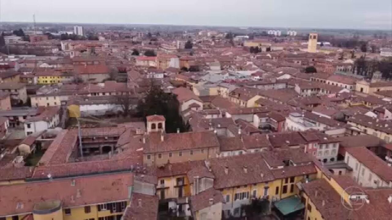 Coronavírus transforma a vida numa pequena cidade da Itália