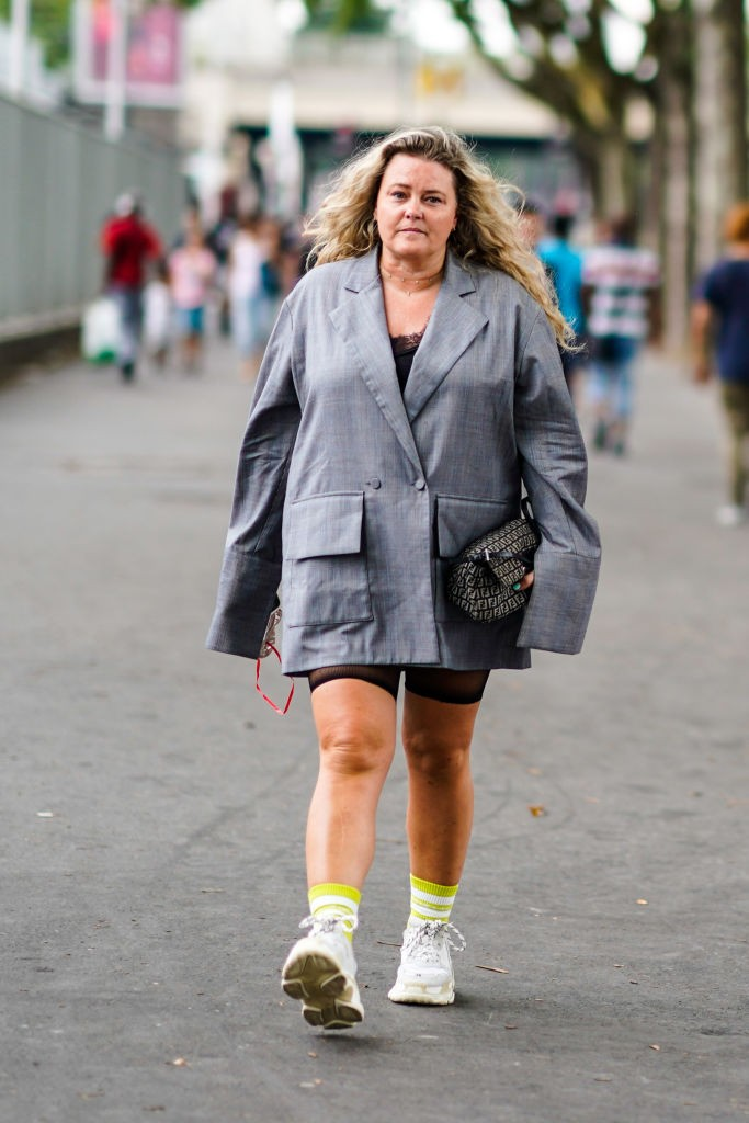 Mercado de moda plus size (Foto: Getty Images)