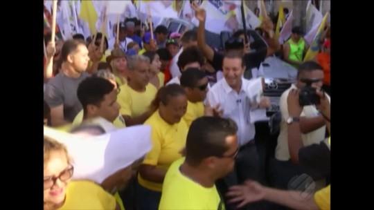 Confira como foi a agenda de compromissos dos candidatos ao governo do Pará nesta segunda, 17
