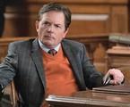 Michael J. Fox em cena de 'The good wife' | Reprodução