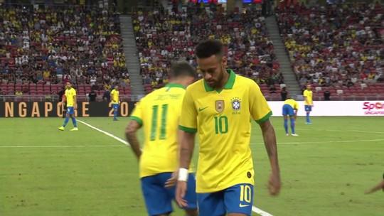 Neymar sofre lesão de grau 2 na coxa e vai desfalcar o PSG em cerca de quatro semanas