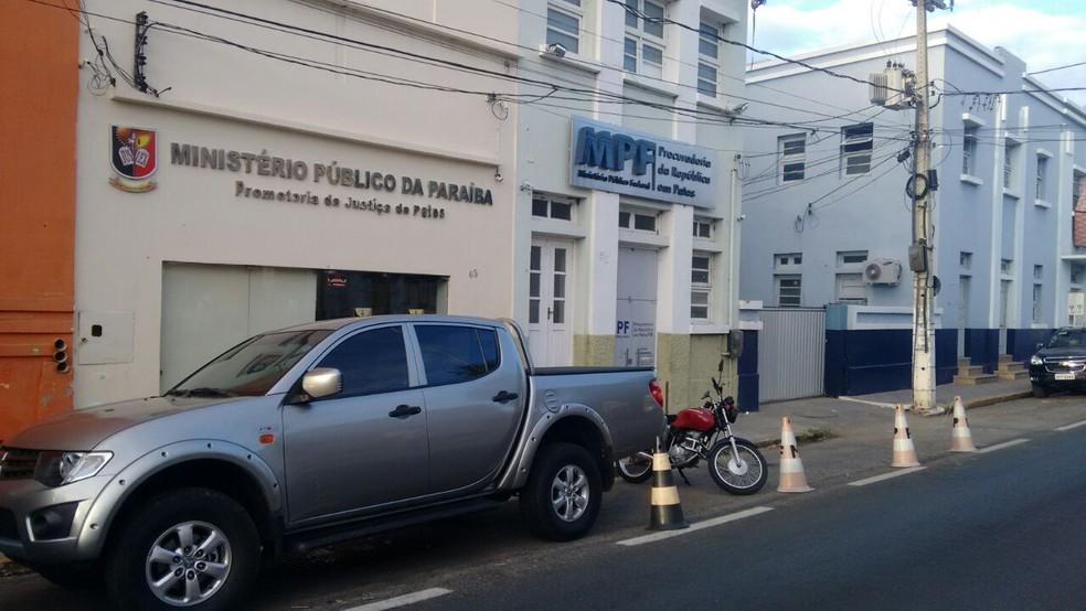 MPF e PF cumpriram mandados em Malta, no Sertão da Paraíba (Foto: Rafaela Gomes/TV Paraíba/Arquivo)