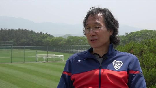 """Clube sul-coreano adota """"uniforme"""" do Flamengo de Zico como grande inspiração"""