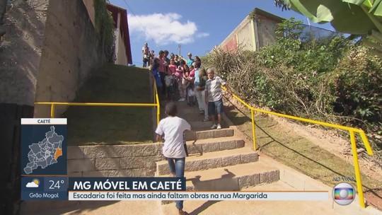 MG Móvel acompanha obras em Caeté