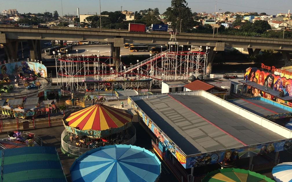 cd169dcf96f08 Parque de diversões da Zona Leste de SP resiste ao tempo e tem até ...